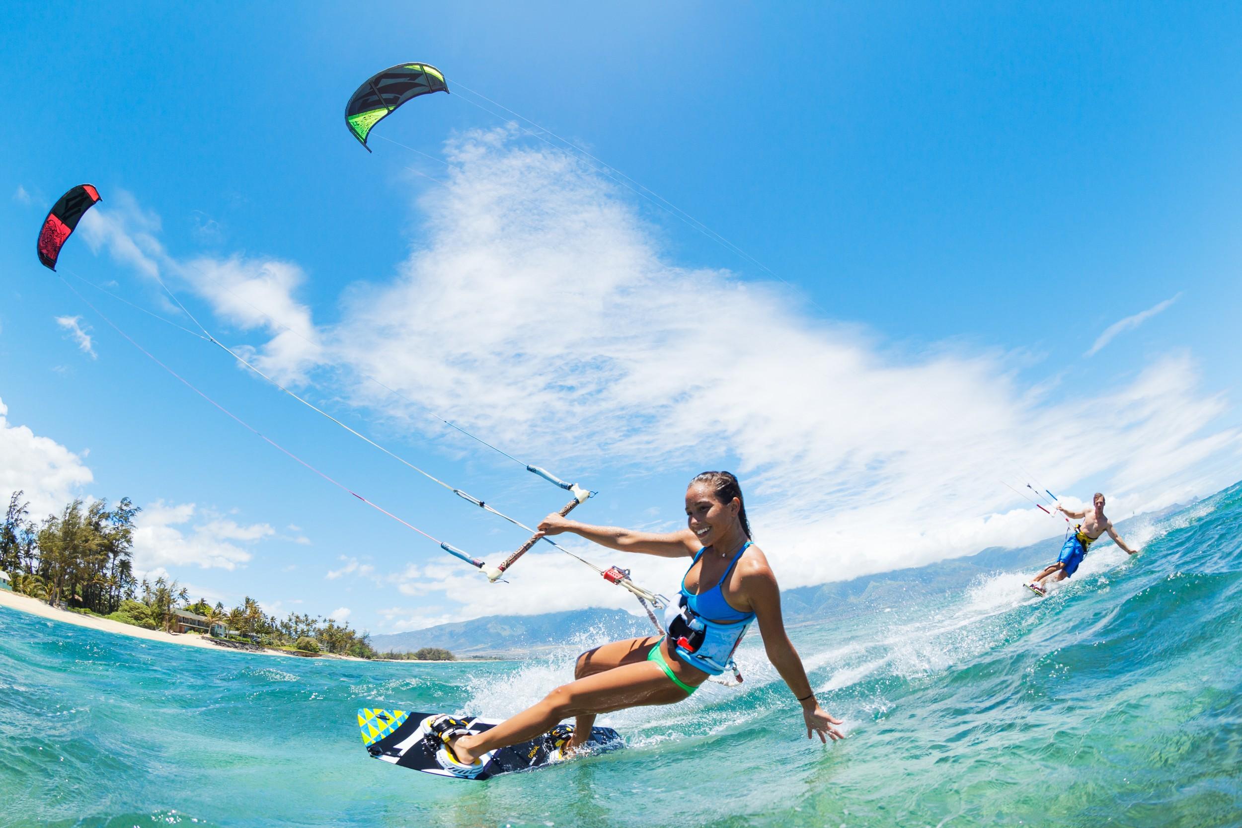 kitesurf em ilhabela