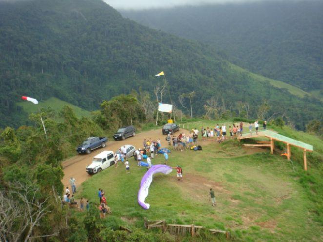 Pontos turísticos de Caraguá vista de cima