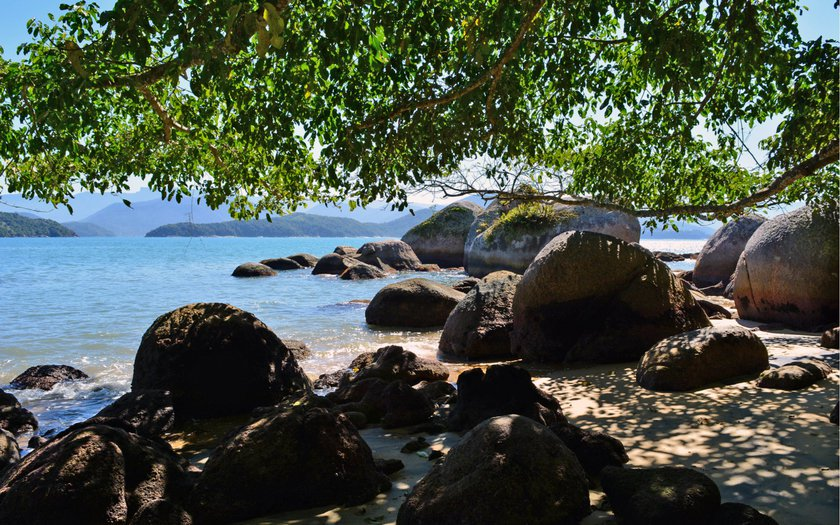 ilhas do litoral de SP anchieta